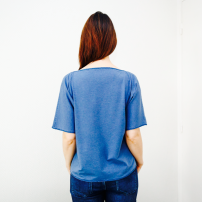 tee shirt vue de dos