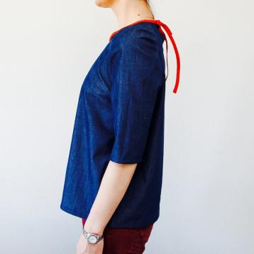 blouse stockholm vue de profile