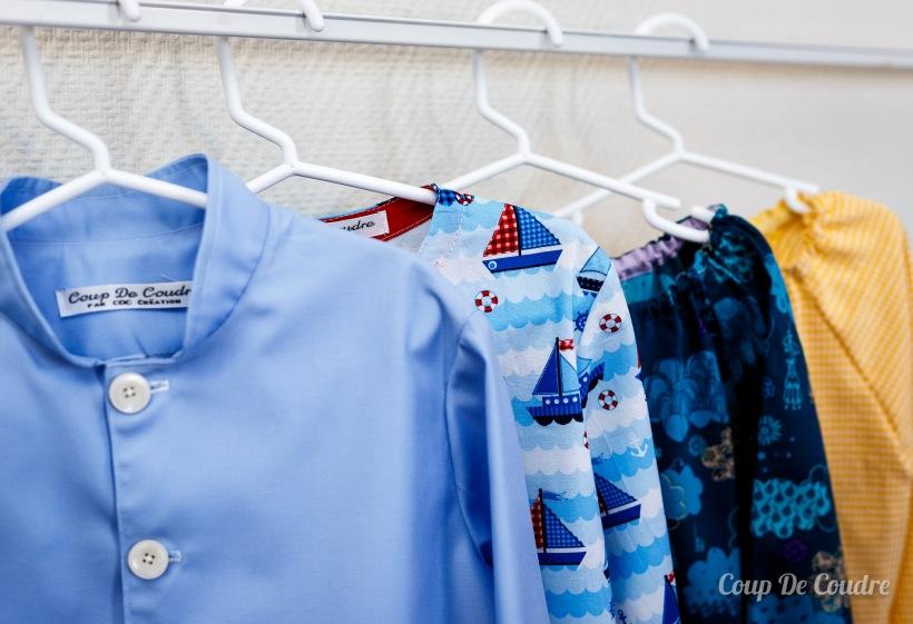 blouses d'écolier pour les garçons et les filles